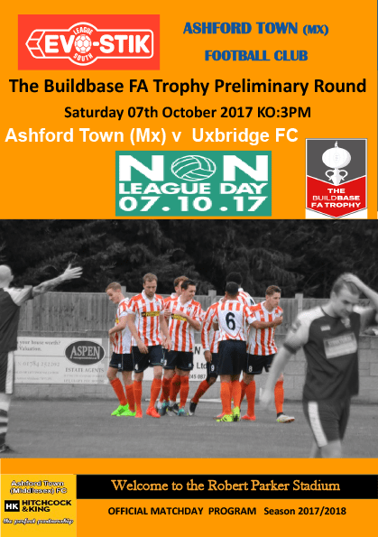 FA Trophy v Uxbridge, 07/10/17